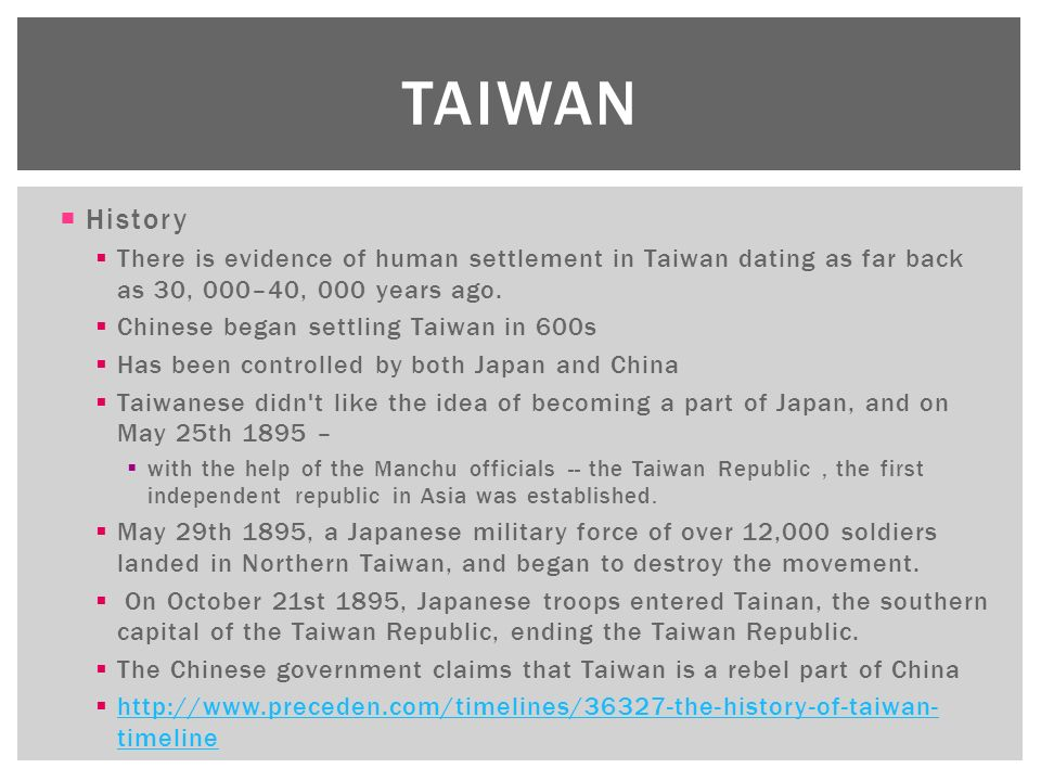 an analysis of religion and establishment of government in taiwan Analysis, and the disciplinary approach (psychology, anthropology, sociology,  religion, values, attitudes, customs, and norms of a group or society.