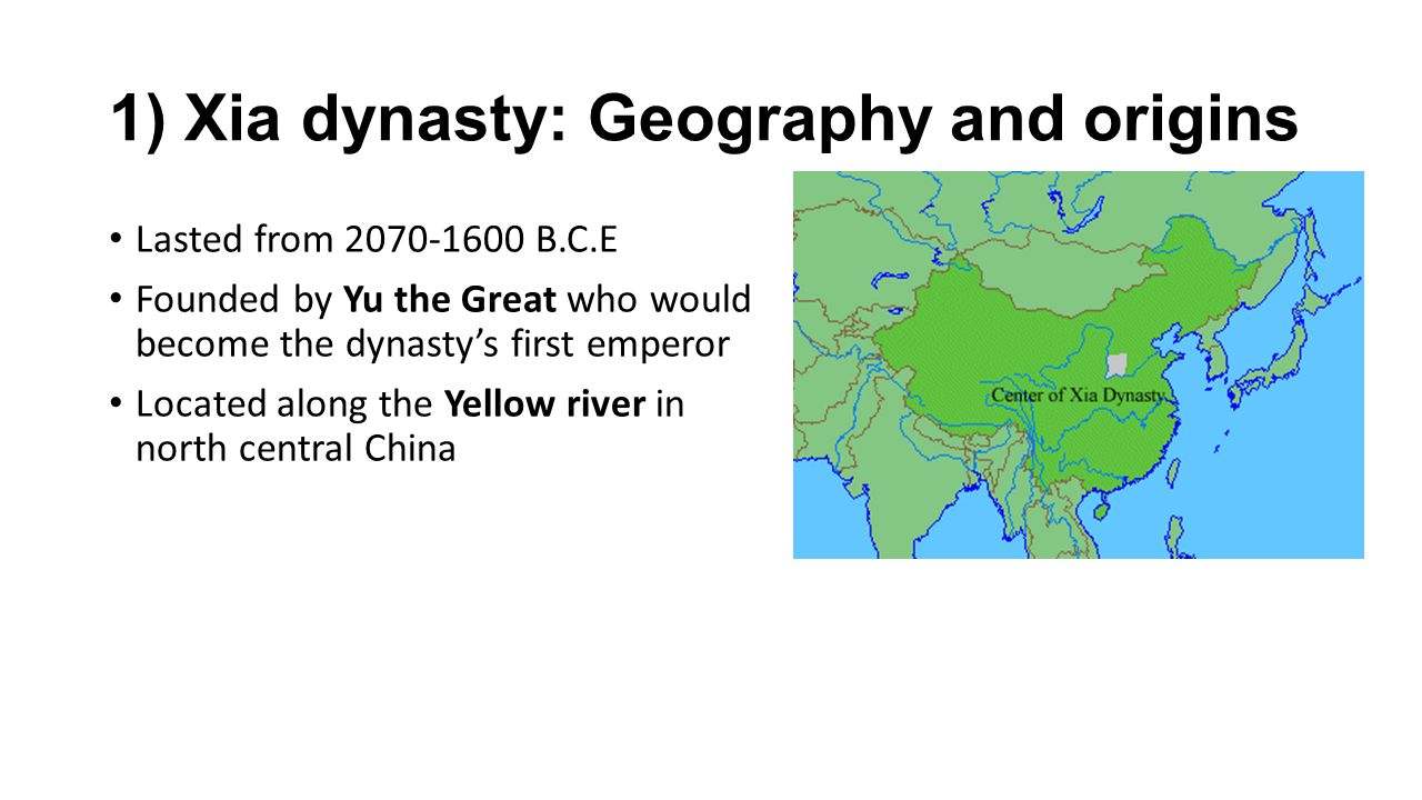 Ap world history xia and shang dynasties in ancient china ppt 1 xia dynasty geography and origins sciox Image collections