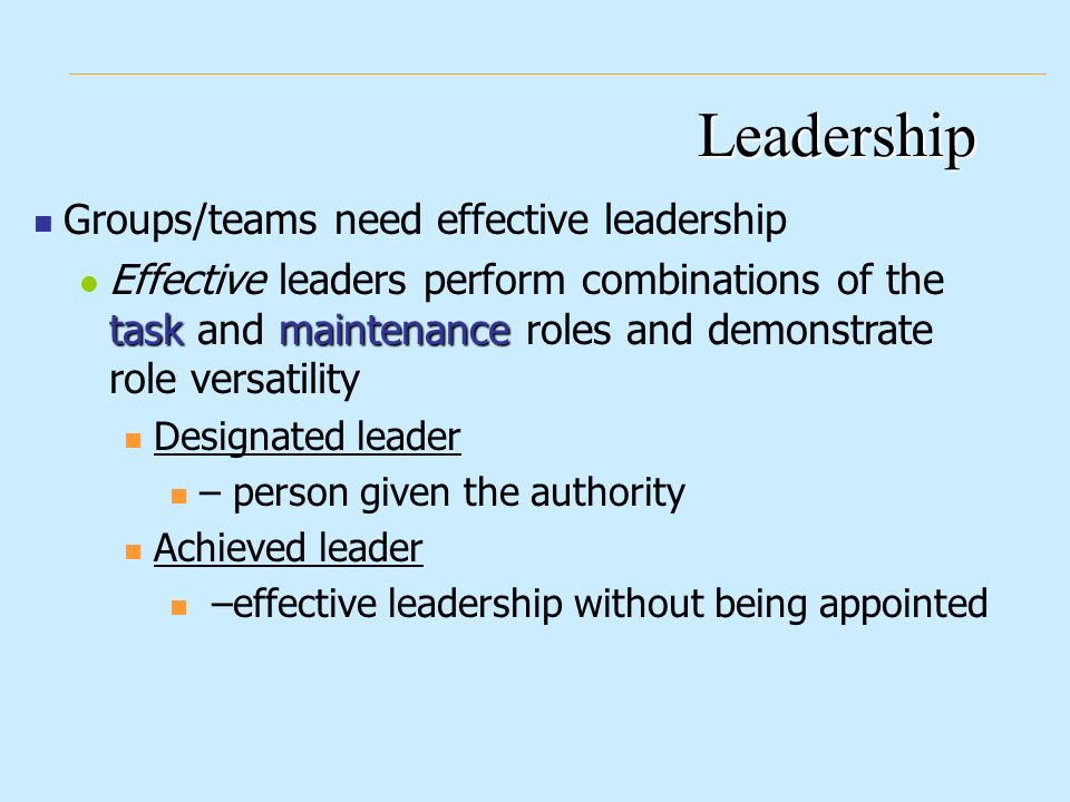 the importance of character for being an effective leader Click through the following slides for 10 characteristics for effective leadership in being in a leadership role does not necessarily make someone understanding how employees' unique traits contribute to the work environment and job description are important for leaders to coach and.