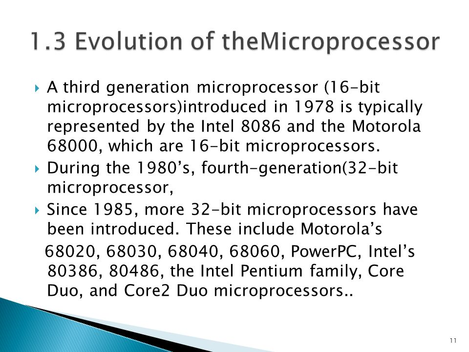 evolution of the microprocessor Lots of analogies but like all analogies though simpler, they are weaker than the  literal facts because they leave out things and then it depends on the emphasis.