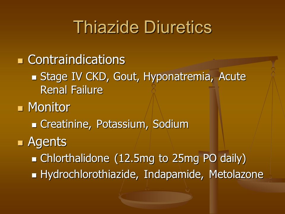 Indapamide Uses