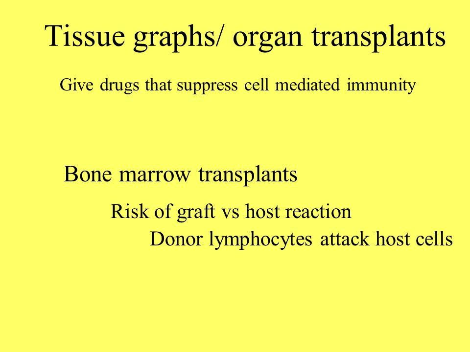 Tissue graphs/ organ transplants
