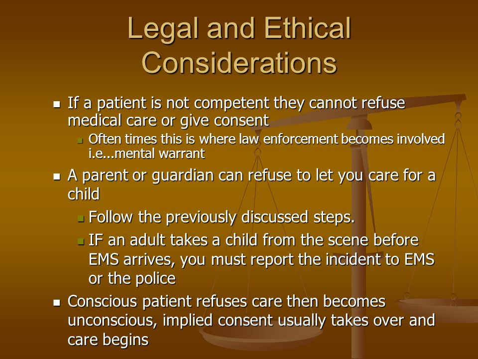 legal and ethical basis for advance directives essay Legal & ethical issues of life & death (research keywords advance care directives the legal and ethical considerations of life and death are numerous and.