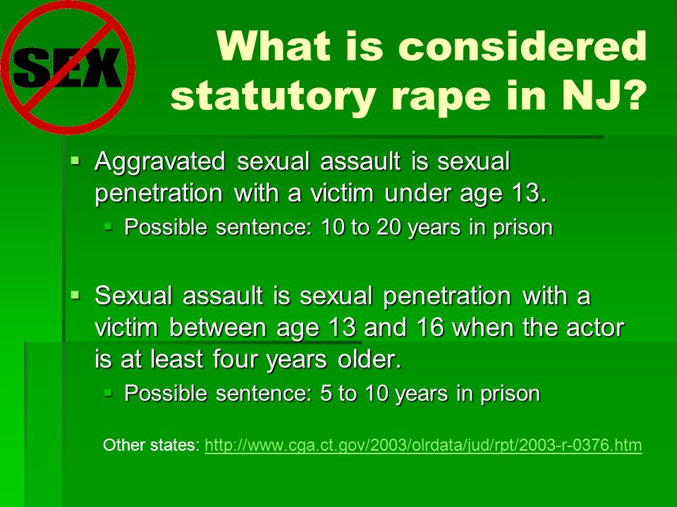 Aggravated Sexual Assault Law and Legal Definition