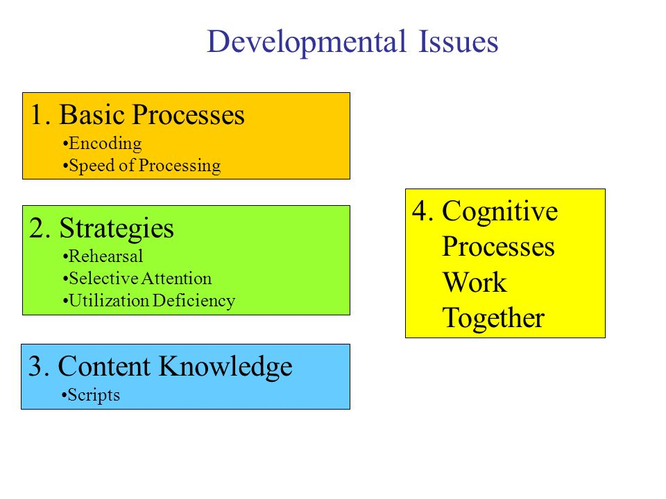 Cognition What is Cognition? Why Use Developmental ...