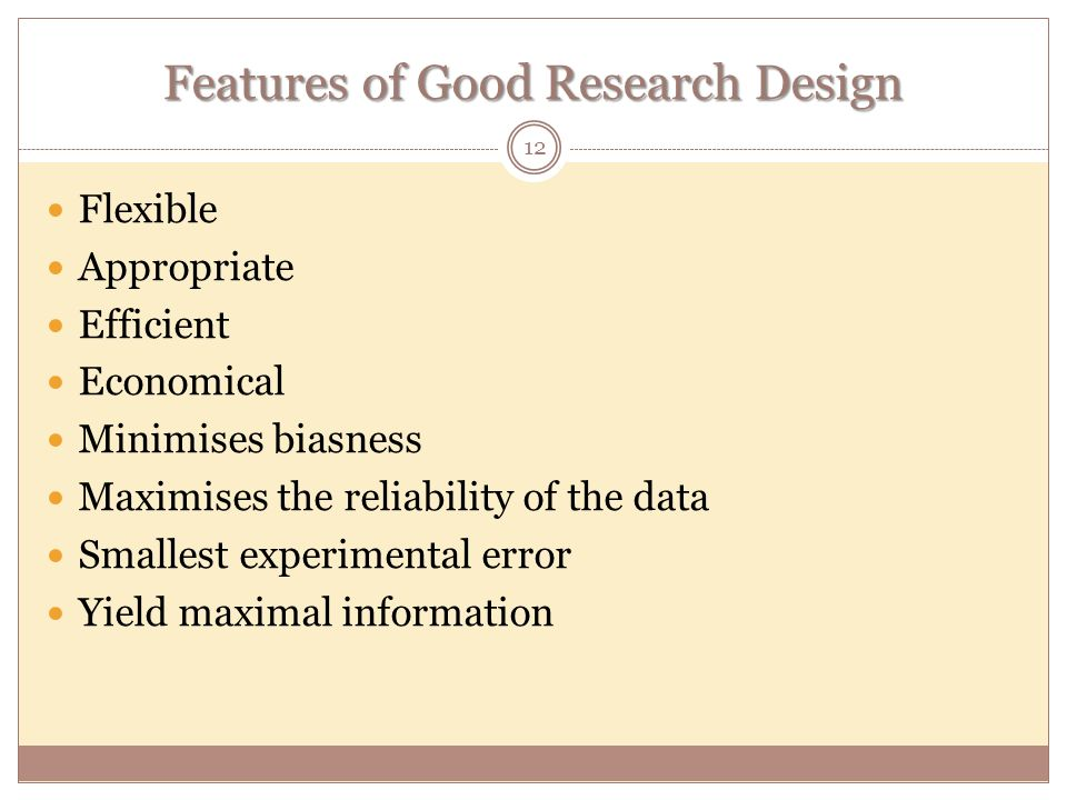 features of research design pdf