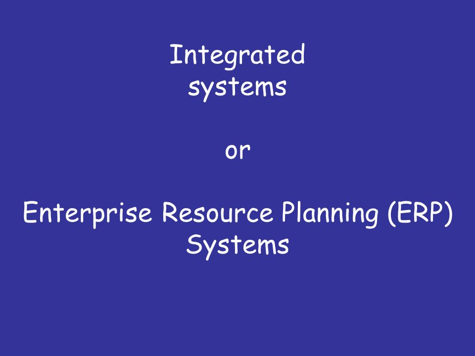 an analysis of enterprise resource planning erp system Enterprise resource planning or erp solution is a what is erp software analysis of features, types top 10 erp software for your company: analysis of.