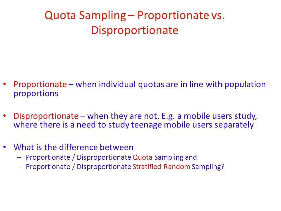 what is quota sampling pdf