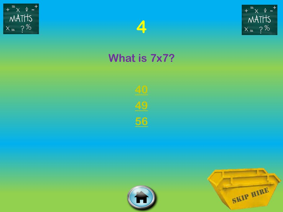 4 What is 7x
