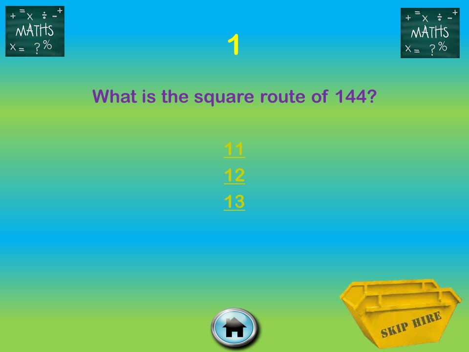 What is the square route of