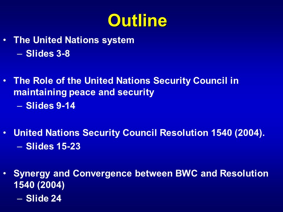 A Reflection on the Role of the United Nations in Ensuring a Secure, Prosperous and Equitable World