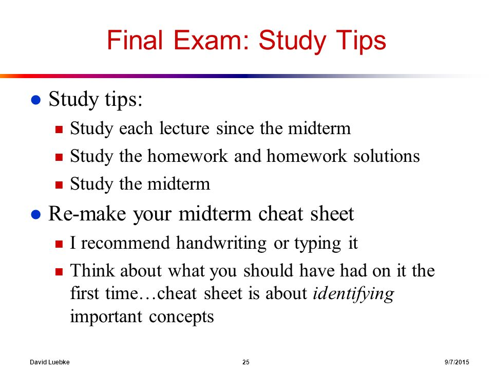 exam study sheet use for midterm Accounting 1 midterm exam accounting 1 honors midterm exam - study guide in the first semester 10 items on the work sheet.