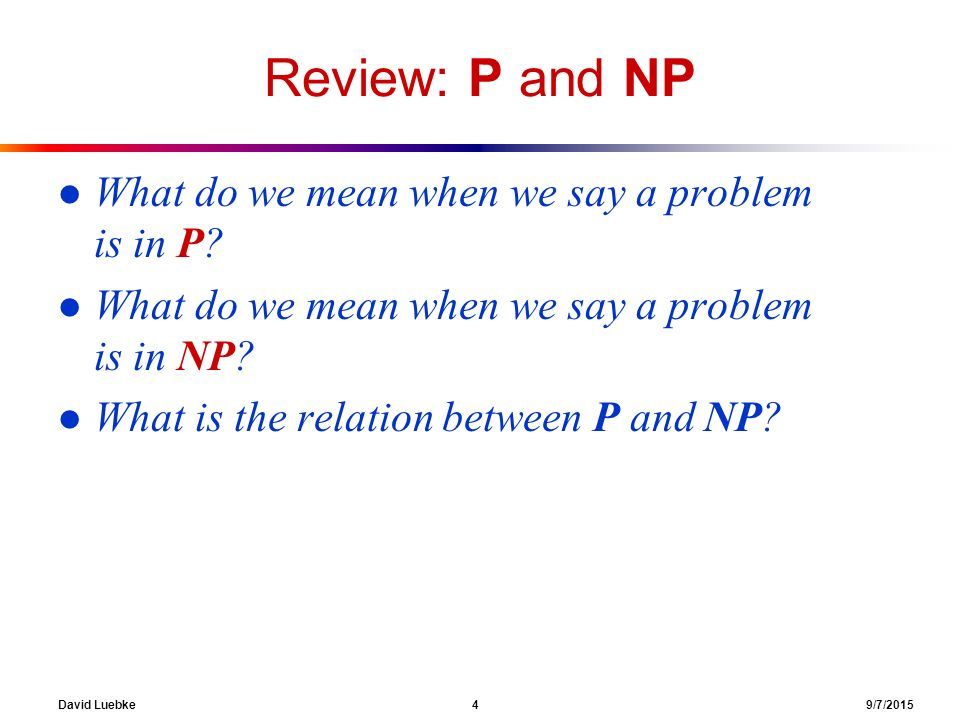 p and np problems pdf