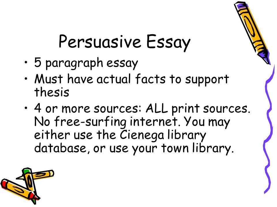 essay five paragraph format