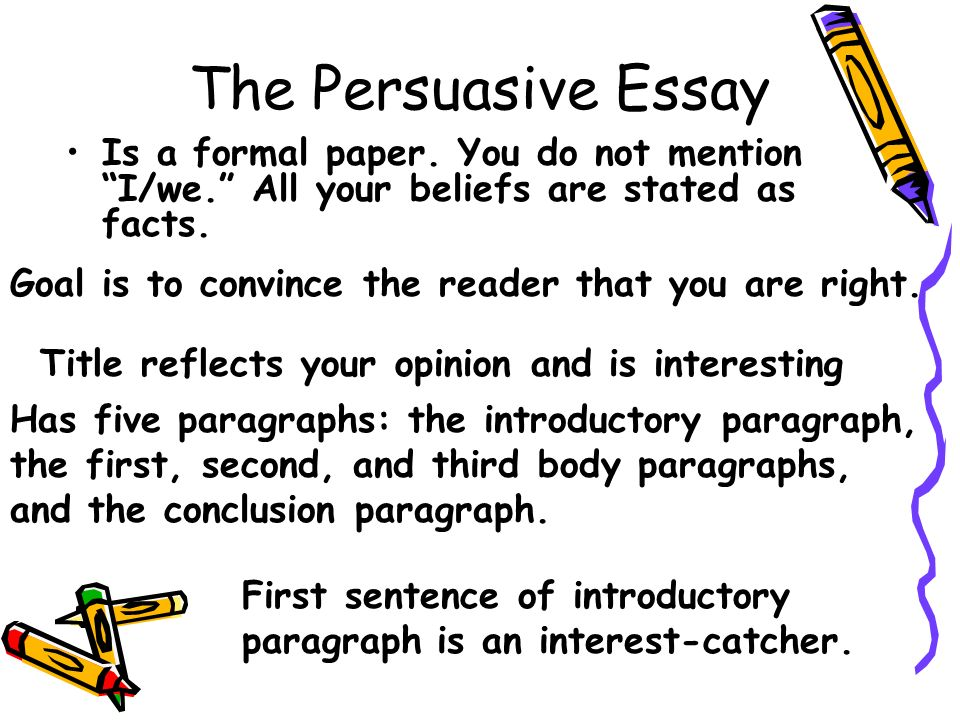 persuasive essay help Free essays, research papers, term papers, and other writings on literature, science, history, politics, and more.