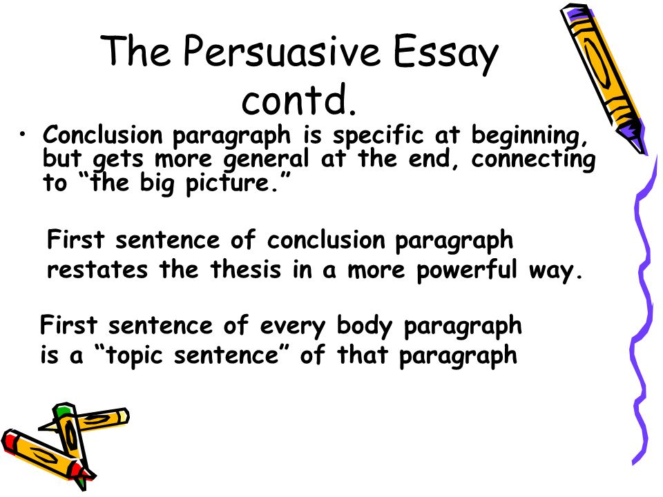 Friendship Essay In English The Persuasive Essay Contd Thesis Statement For An Argumentative Essay also How To Write A Research Essay Thesis Bw In Journal Brainstorm As Many Controversial Issues As You Can  Health Promotion Essays