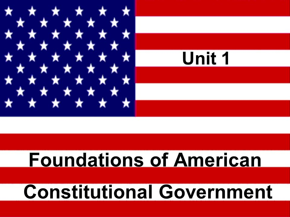 Constitutional Foundations for the United States Democratic Republic