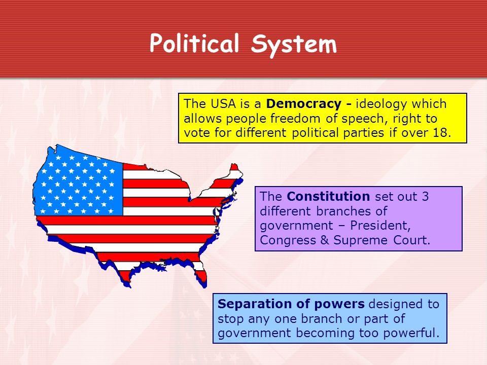 an analysis of political system in america How does the american political system work how does the electoral process work, what is the structure of the american congress like what is the student government.