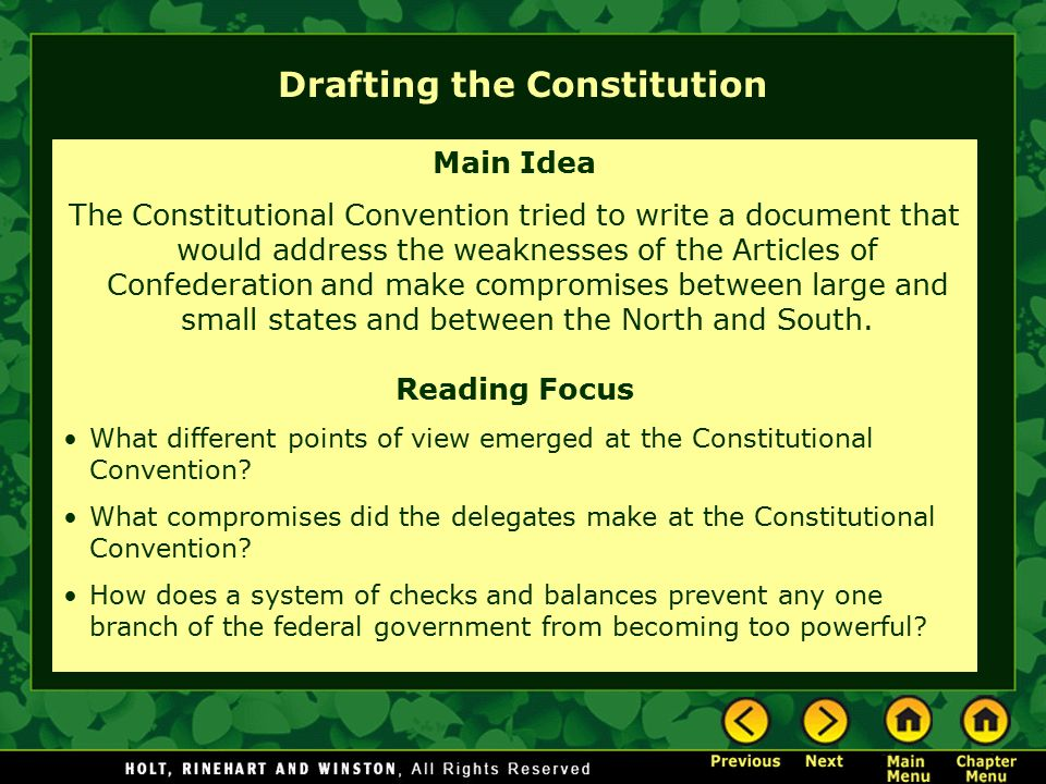 constitutional convention compromises