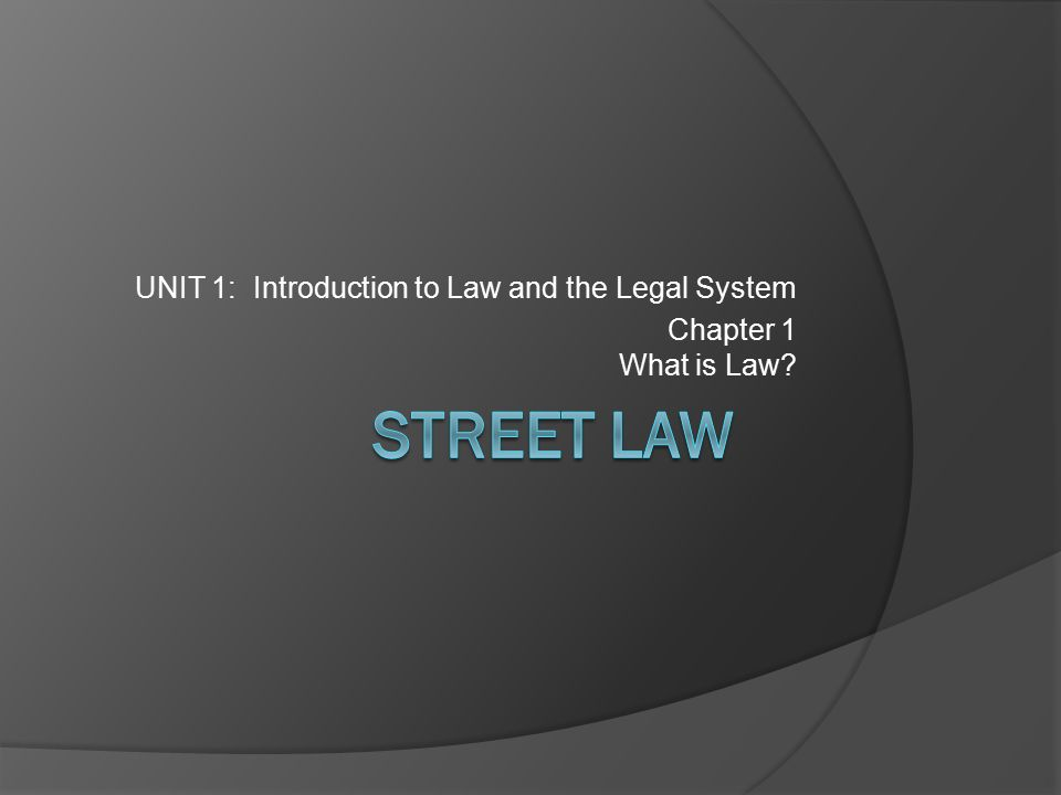introduction to legal analysis unit 1 Unit 1: introduction to law of evidence three kinds of  r v mohan  ratio: cost benefit analysis→is value of evidence worth what it costs.