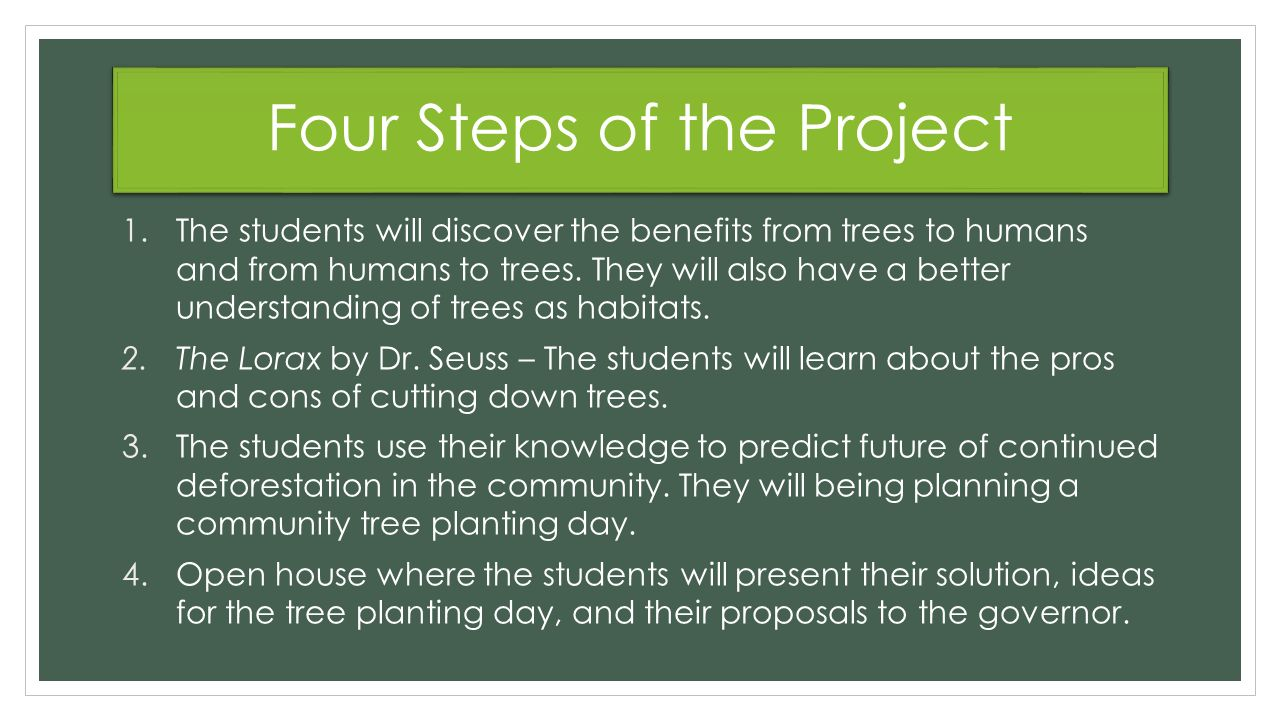 Project Based Learning: Deforestation - ppt download