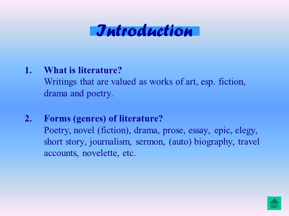 introduction for an essay about poetry An essay on poetry steven c scheer according to the judeo-christian bible, god created the world by means of words, by divine fiat he said let there be, and.