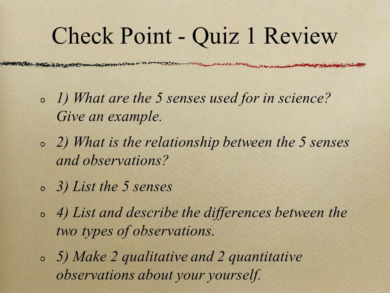 quiz 1 - scientific processing