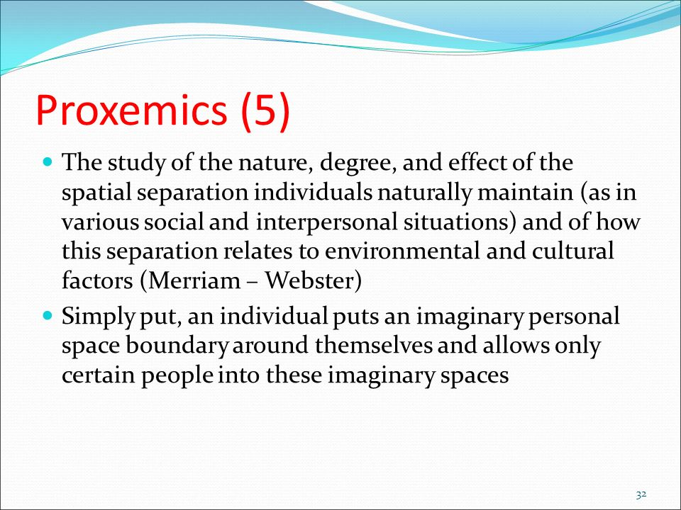 proxemics the study of personal space essay All kinds of academic writings & custom essays proxemics research paper - if you want to know how to compose a proxemics essay essay golden ratio about superb essay, you are to study this.