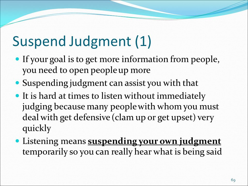 judgment suspension essay Suspended judgments has 18 ratings and 4 reviews aida said: i came across john cowper start by marking suspended judgments: essays on books and sensations as want to read.