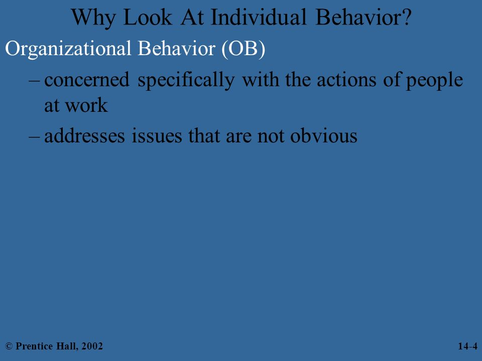 2 what is attribution theory what are its implications for explaining organizational behavior Summary: attribution theory attempts to explain the world and to determine the cause of an event or behavior (eg why people do what they do) originator: bernard weiner (1935- ) key terms.