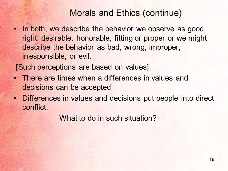 Nursing ethical values and definitions: A literature review