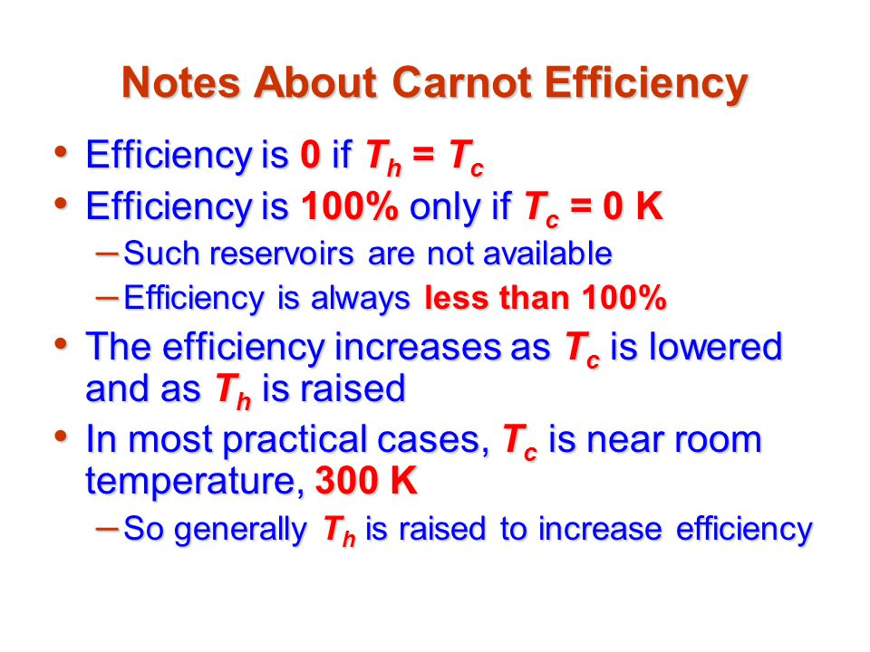 thermodynamics and thermal efficiency Explain how heat engines, heat pumps, and refrigerators work in terms of the laws of thermodynamics describe thermal efficiency solve problems involving thermal efficiency.