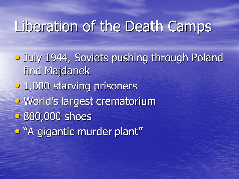 Liberation of the Death Camps