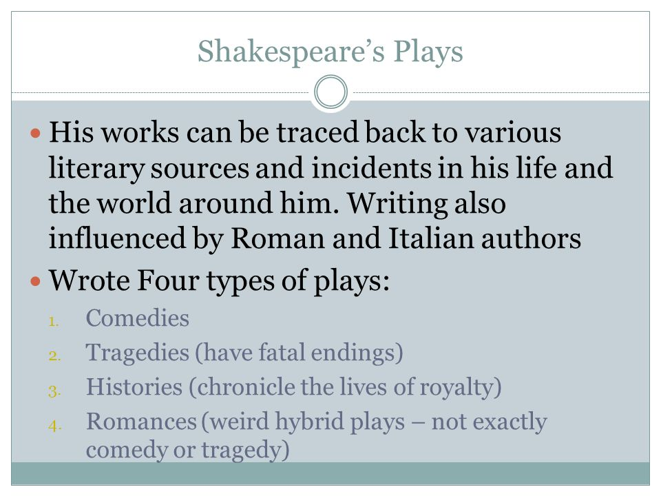 Shakespeare comedy plays essay