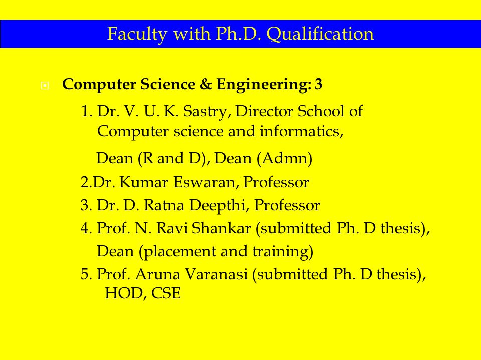 Ph d thesis in computer science and engineering
