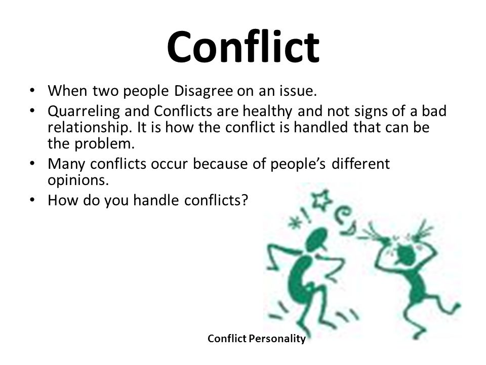individuals respond differently to conflict People react to and manage conflict at work very differently three people in the same situation may have three distinctly different reactions and to make matters more complex, not only do people act differently in workplace conflict, but the same person may respond one way in one situation and react another way in a different [].