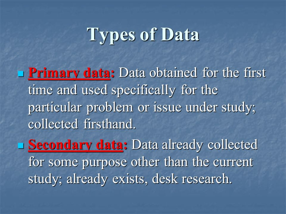 types of data analysis in research methodology Methods to conduct research for the type of research discussed here chapter 1: basic concepts in research and data analysis 7.