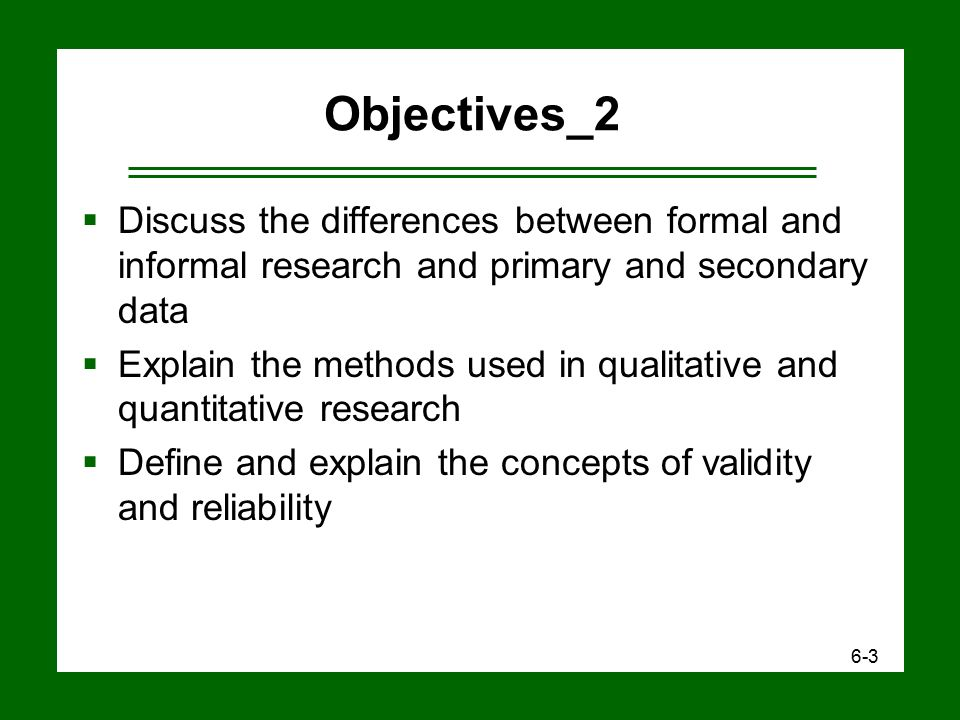 a discussion on the difference between reliability and validity