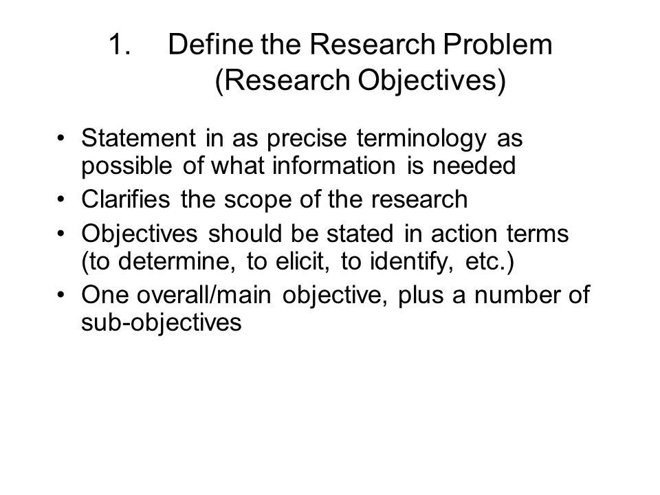 statement of the problem objectives Editorial what is a problem statement are purpose and problem statement synonymous does a study objective, hypothesis, or summary of the content of the report comprise a problem statement to add to the confusion.