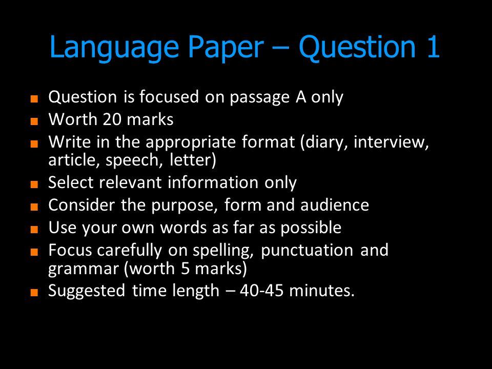 english essay topics igcse