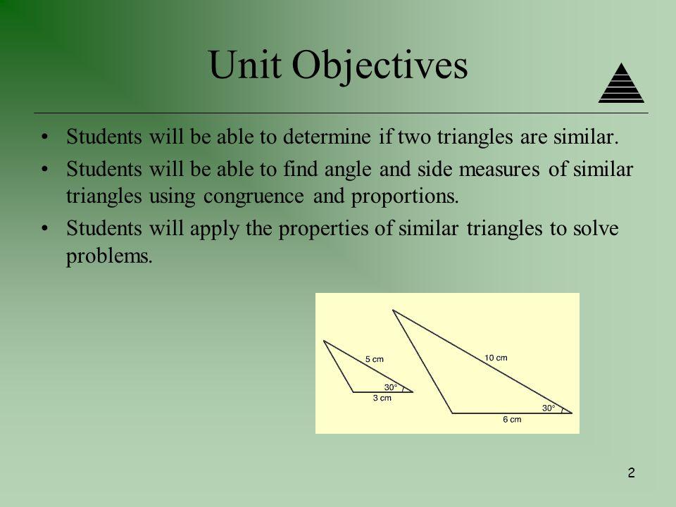 Similar Triangles Problem Solving