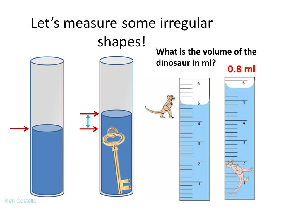 Let's measure some irregular shapes!