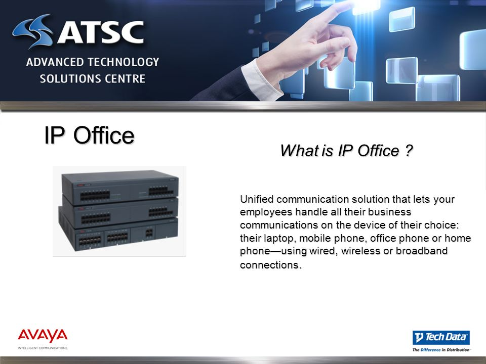 IP Office What is IP Office