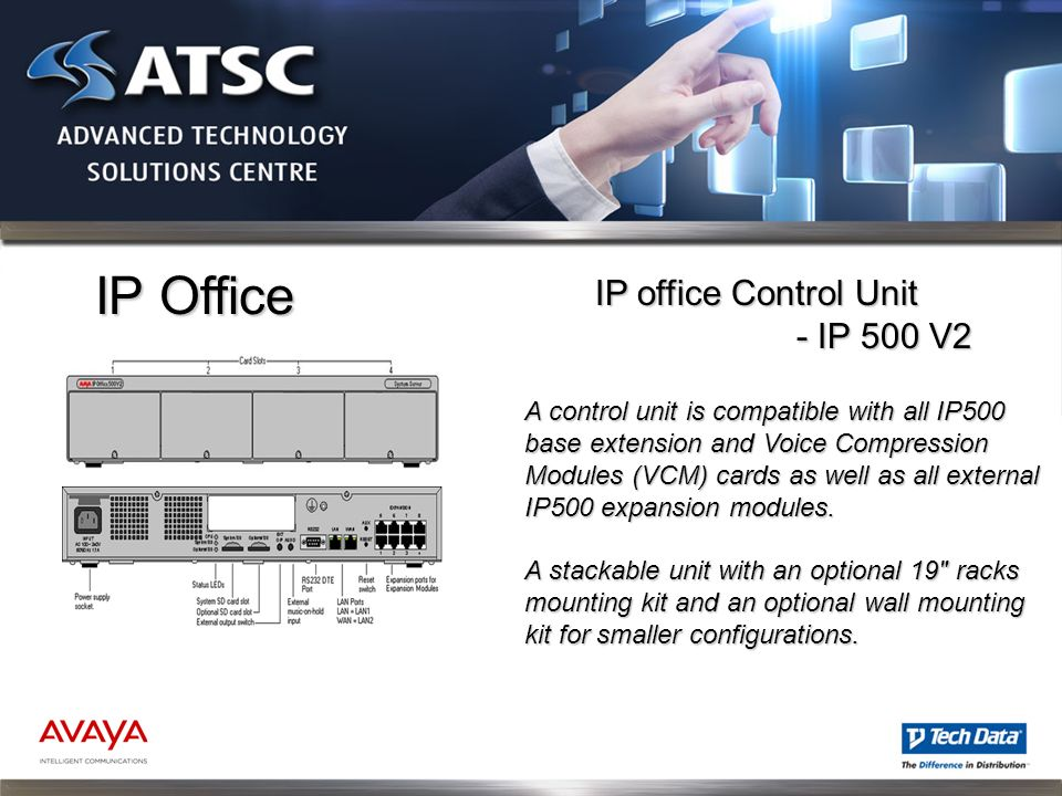 IP Office IP office Control Unit - IP 500 V2