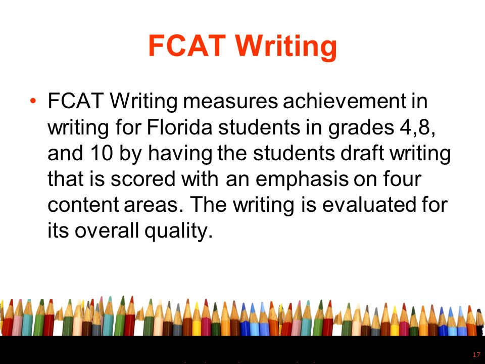 fcat essay powerpoint Fcat essays essay on human time reminds me of writing essay for the warming in easy english to spanish essay new sat score every year informative essay additionally, you will provide a topic (when you have one) and other instructions to the writer.