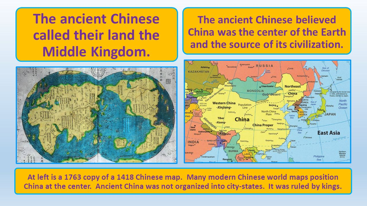 Ancient india and china ppt video online download the ancient chinese called their land the middle kingdom gumiabroncs Image collections