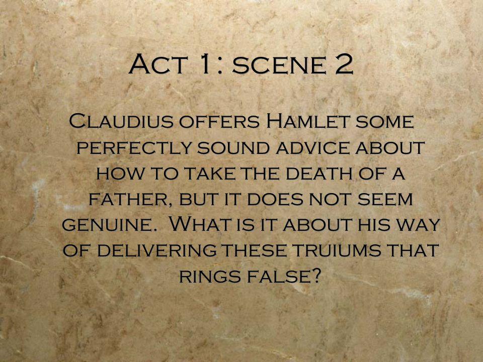 claudius speech hamlet essay