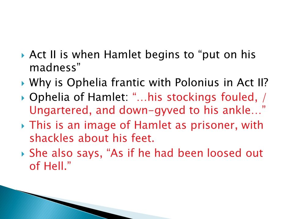 essays on madness in hamlet View and download hamlet madness essays examples also discover topics, titles, outlines, thesis statements, and conclusions for your hamlet madness essay.
