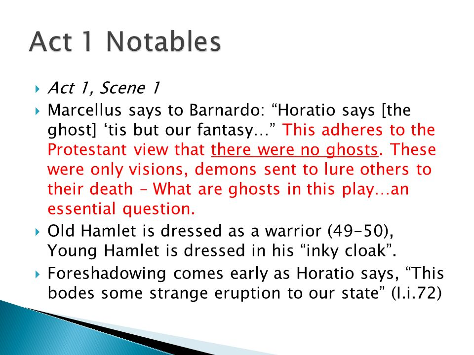 hamlet and horatio relationship act 1