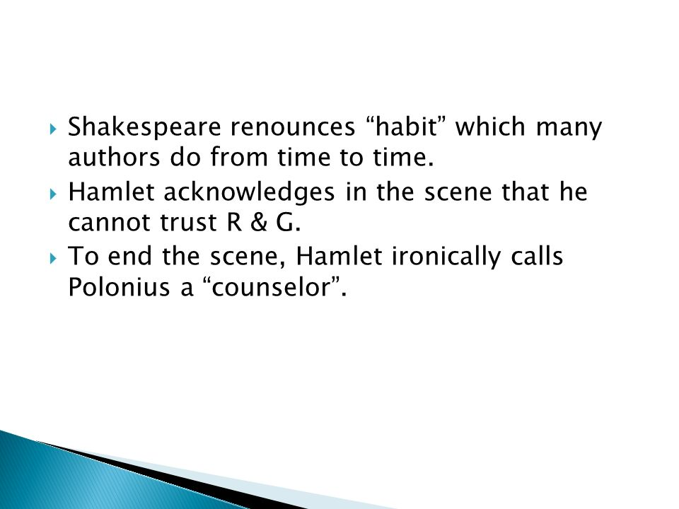 evaluating hamlets insanity from two points of views in the play hamlet Act ii -- hamlet's madness he uses subtle ways to convince everyone of his insanity and though not fully mad in this point of the play, hamlet continues to.